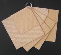 Mini-Album carré carton microcannelé