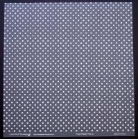 Plaque de Priplak imprimé Pois 30.5x30.5cm