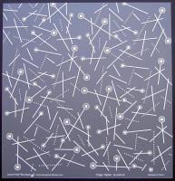 Plaque de Priplak imprimé Sucette 30.5x30.5cm