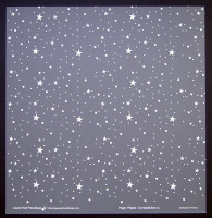 Plaque de Priplak imprimé Constellation 30.5x30.5cm