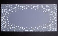 Plaque de Priplak imprimé Napperon 9.5x19cm