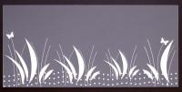 Plaque de Priplak imprimé Prairie 9x19cm