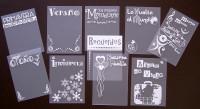 Tags imprimés série 8 en Espagnol