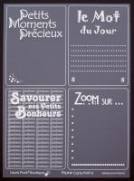Cartes Priplak imprimé Moments Précieux 7.5x10cm