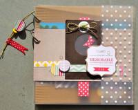 FT n°72 Kit Mini-Album Journée Mémorable
