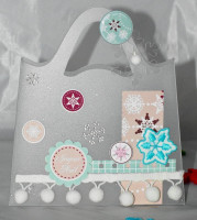 FT n°28 Kit Mini-album et sac Maeva de Noel