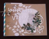 Kit Mini-Album Souvenirs de Voyage