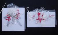 Kit Carterie Noël-Nouvel An en Blanc et Rouge