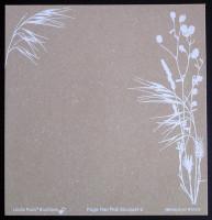 Plaque de Flex'Plak imprimé Bouquet 19x19cm