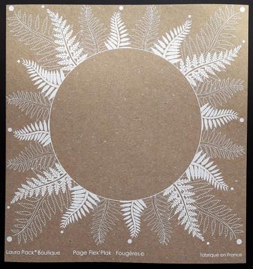 Plaque de Flex'Plak imprimé Fougères 19x19cm