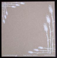 Plaque de Flex'Plak imprimé Herbe 19x19cm