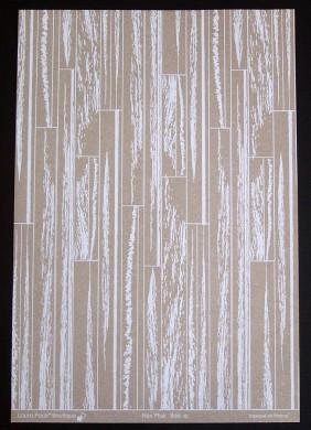 Plaque de Flex'Plak imprimé Bois 21x30cm
