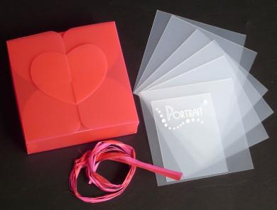 Kit Boite Lisa + Mini-Album