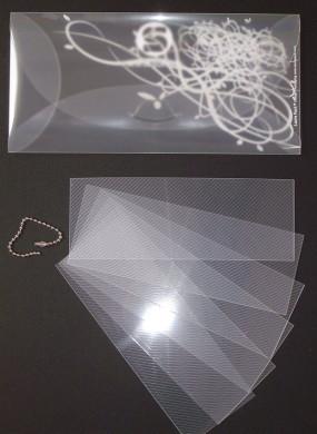 Kit Enveloppe Véra P + Mini-Album Marque-pages