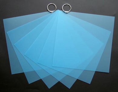 Mini-Album Opaline turquoise
