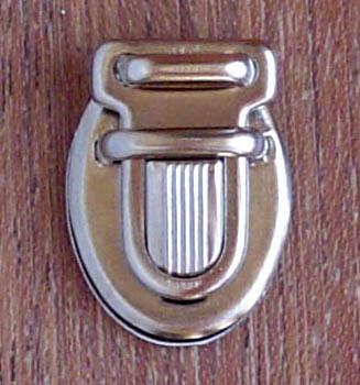 Fermoir métallique Mini-Tuck argenté