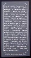 Plaque de Priplak imprimé Ecolier 9.5x19cm