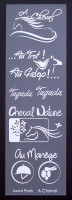 Etiquette en Priplak imprimé A Cheval