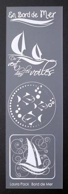 Etiquette en Priplak imprimé Bord de Mer