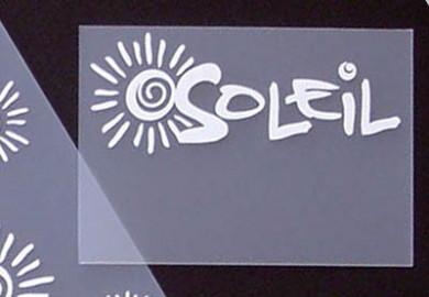 Onglet imprimé Soleil