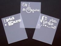 Onglets imprimés série 8