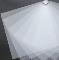 Plaque de Priplak Opaline givré 19 x 19cm