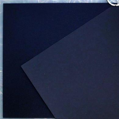 Plaque de Priplak noir 19 x 19cm