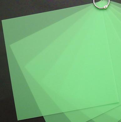 Plaque de Priplak Opaline vert 19x19cm