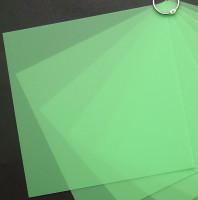 Plaque de Priplak Opaline vert 19 x 19cm