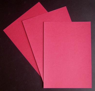 Papier moiré Rouge foncé