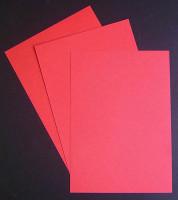 Papier moiré Rouge vermillon