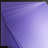 Plaque de Priplak Opaline violet 18x18cm