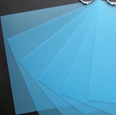 Plaque de Priplak Opaline turquoise 19x19cm
