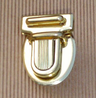 Fermoir métallique Mini-Tuck doré