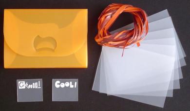 Kit  Boite Nina + Mini-Album cartes :