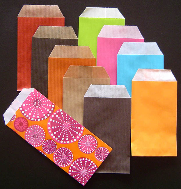 pochette papier kraft laura pack boutique scrapbooking cr atif. Black Bedroom Furniture Sets. Home Design Ideas