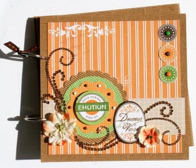 FT n° 15 Mini-Album carton carré