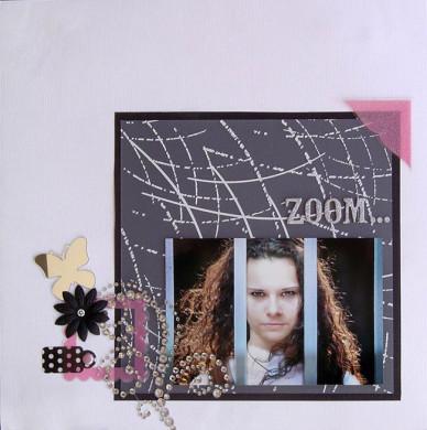 Plaque de Priplak imprimé Graff 19x19cm