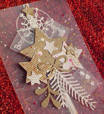 Kit Carte Festive Etoiles
