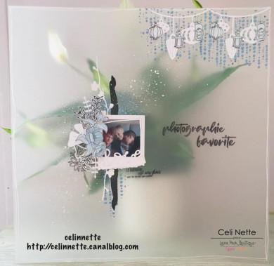 Plaque de Priplak Opaline givré 30 x 30cm