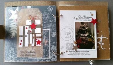 Kit Mini-Album Noël