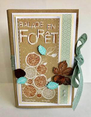 Etiquette en Flex'Plak imprimé Forêt