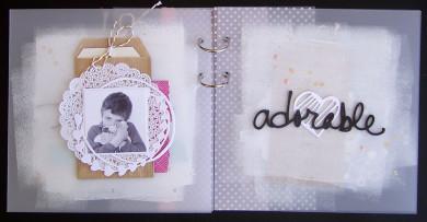 FI n° 126 Mini-Album «Je t'adore»