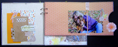 Kit Mini-Album Balade d'Automne