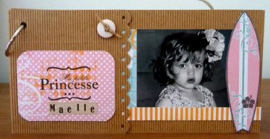 FT n°11 Mini-Album en carton microcannelé