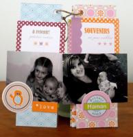 FT n°16 Kit Mini-album et Enveloppe Véra
