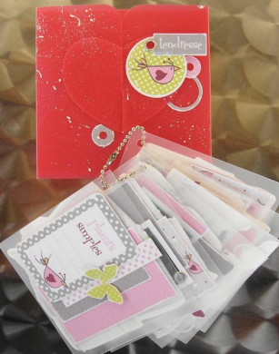 FT n°36 Kit Boite Lisa + Mini-Album Freesia fille