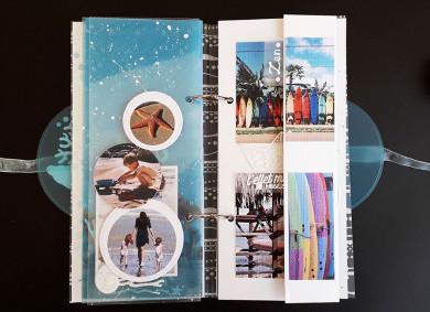 Kit Mini-Album Destination