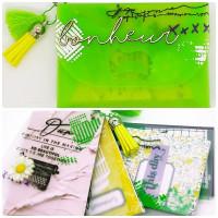 FT n°154 Kit boite Nina + Mini-Album Bonheur