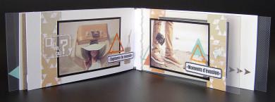 FT n°106 Kit Mini-Album Dans ma valise